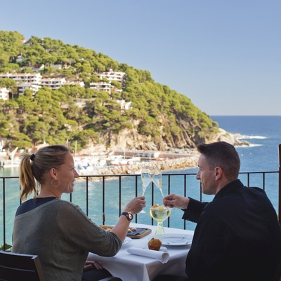 Hotel Restaurant Casamar. Llafranc. (Oriol Clavera)