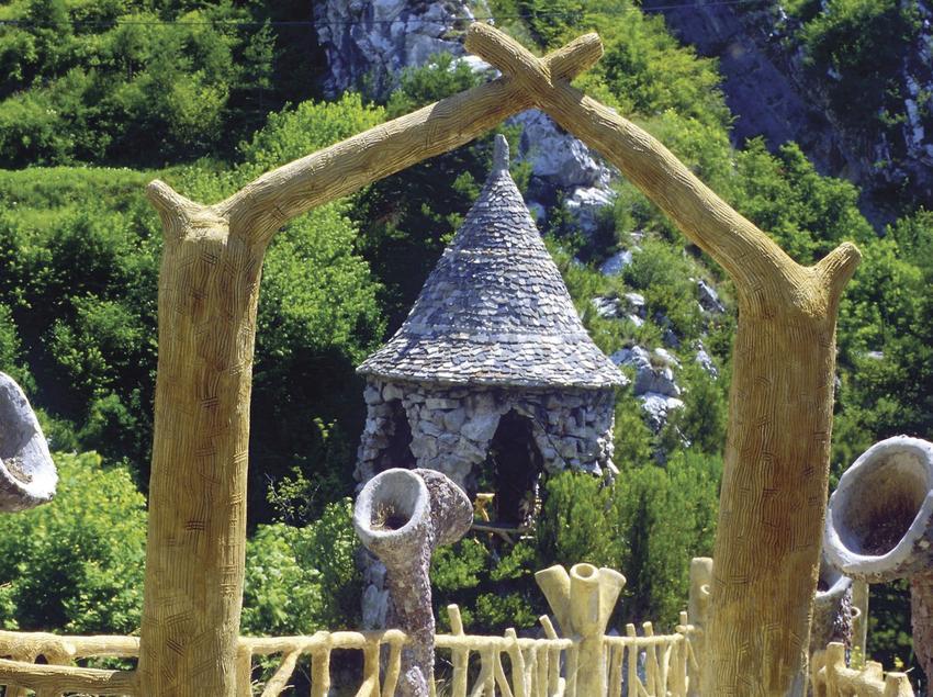 Entrada original, Jardins Artigas