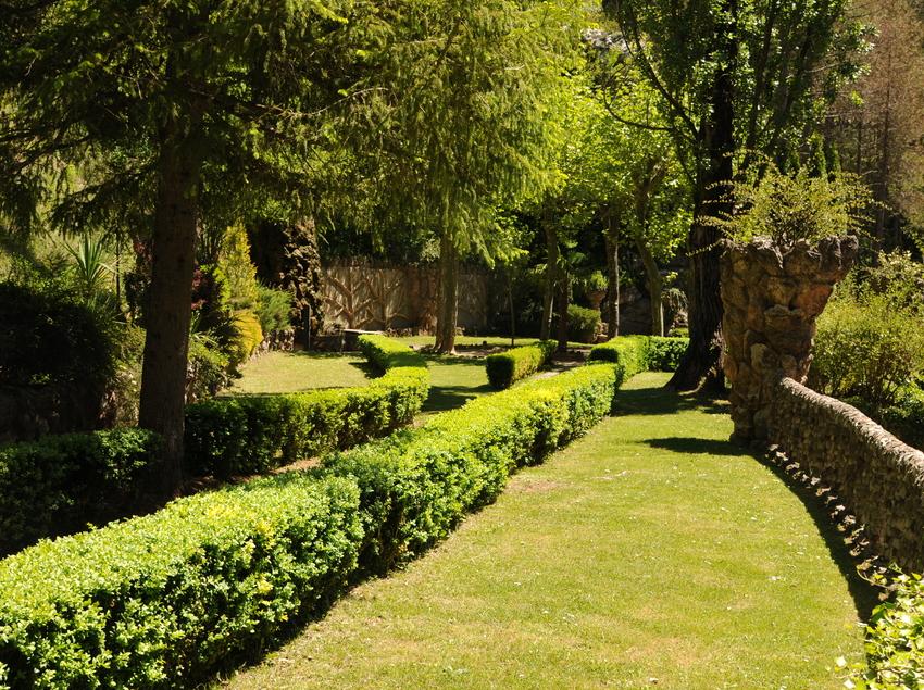 Avinguda entrada, Jardins Artigas