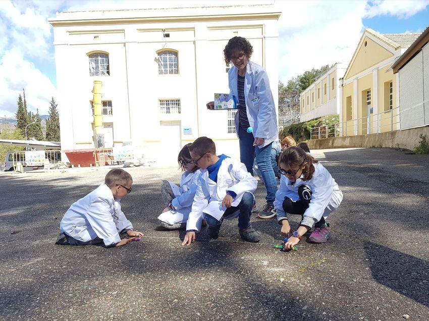 Activitat en família a l'Espai Patrimonial Central Hidroelèctrica de Talarn