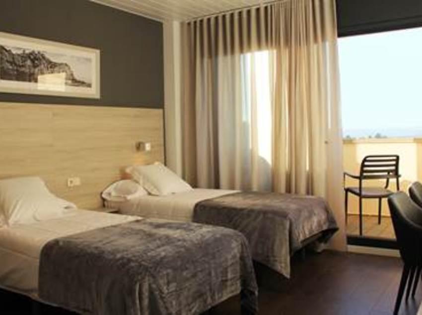 Habitación del Hotel Can Puig