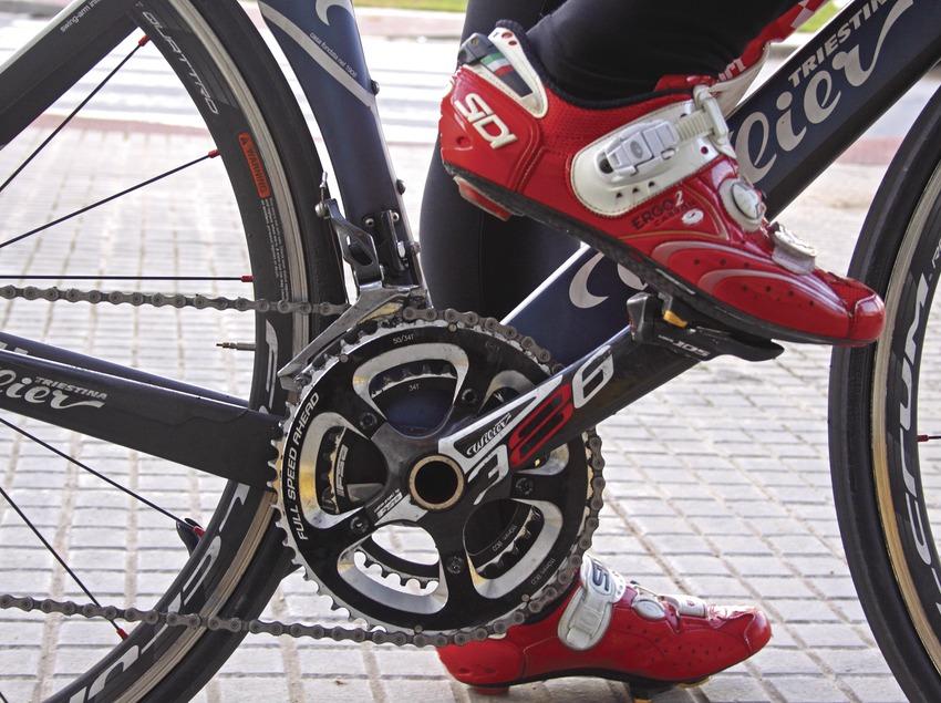 Elements de bicicleta de carretera.