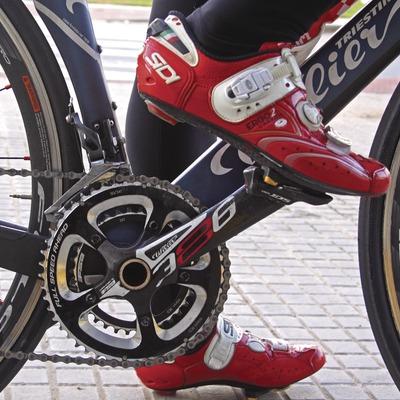 Elementos de bicicleta de carretera.