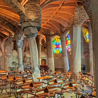 Cripta Gaudí.