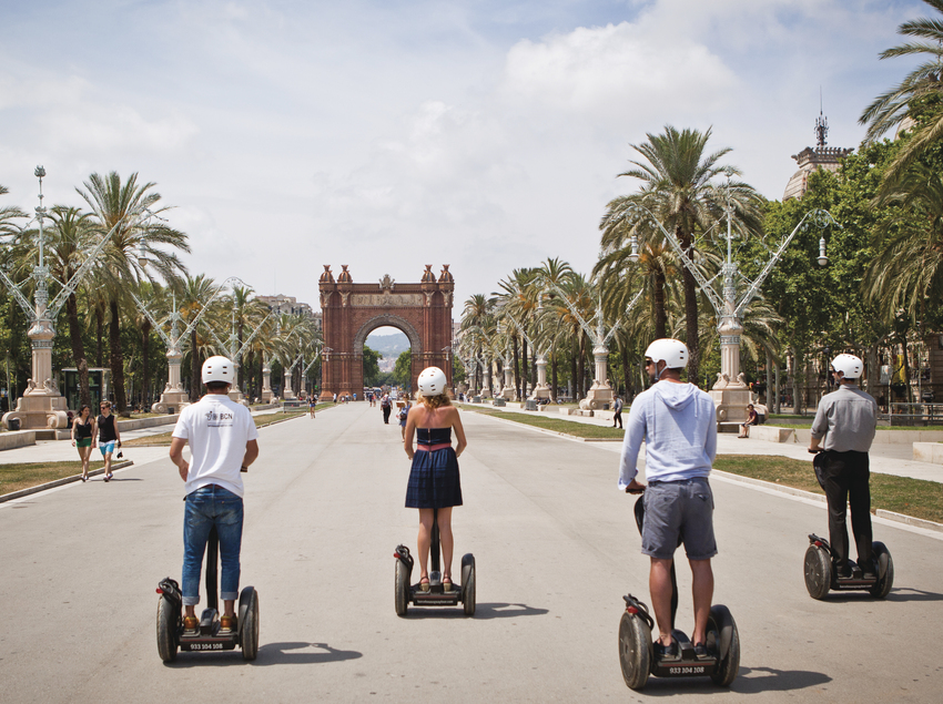 Barcelona Segway Tour en Arc de Triomf