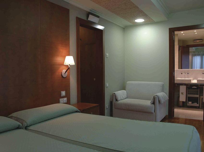 Habitación del hotel Vall Fosca