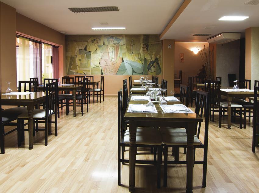 Comedor del hotel Alegret