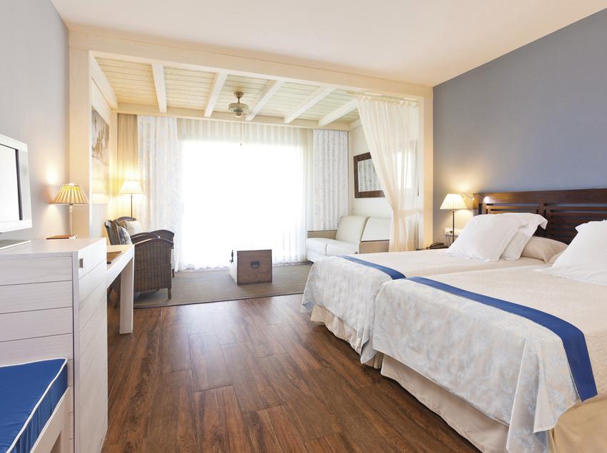 Habitació de l'hotel PortAventura.