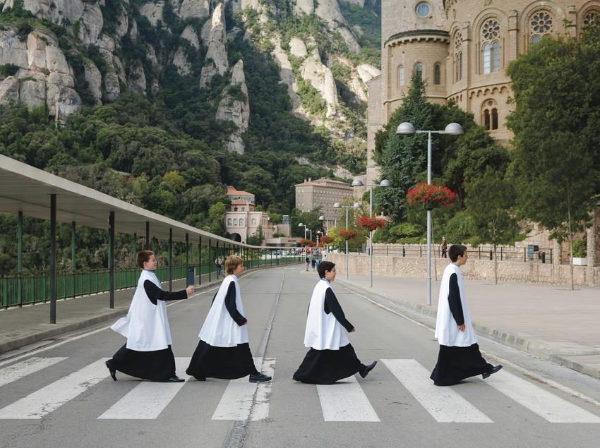Escolania de Montserrat. (Rafa Pérez)