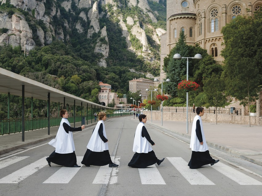 Escolania de Montserrat.