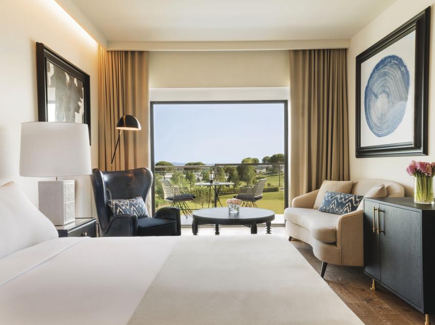 Habitació de l'hotel Camiral, al PGA Catalunya Resort.
