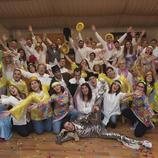 Grupo de gente en una de las actividades de team building de Ocio Vital.