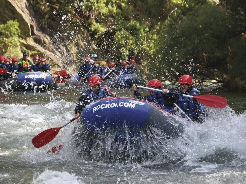 Descens en ràfting pel riu Noguera.