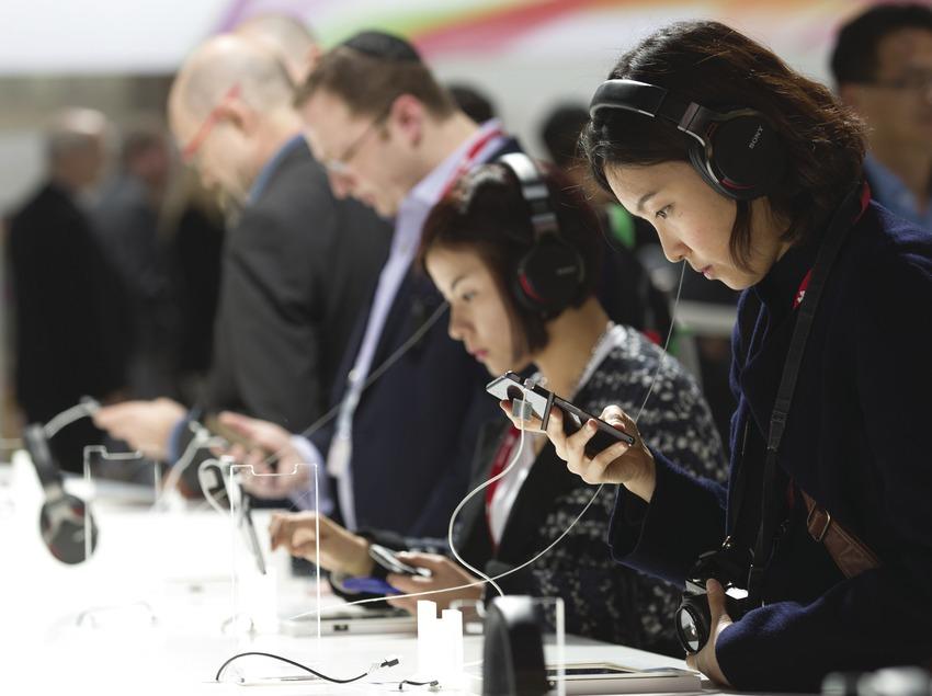 Mobile World Congress a la Fira Granvia. (Albert Bertran)