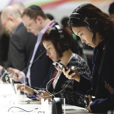 Mobile World Congress a la Fira Granvia.
