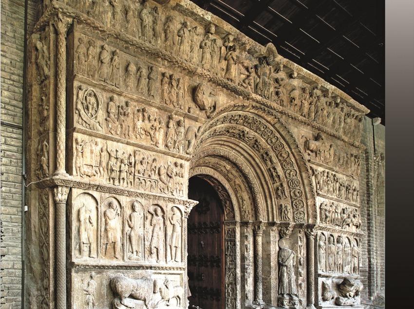 Pórtico del monasterio de Santa Maria de Ripoll