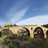 La Seu, el Pont Vell i la Cova Ignasiana. (Oriol Clavera)