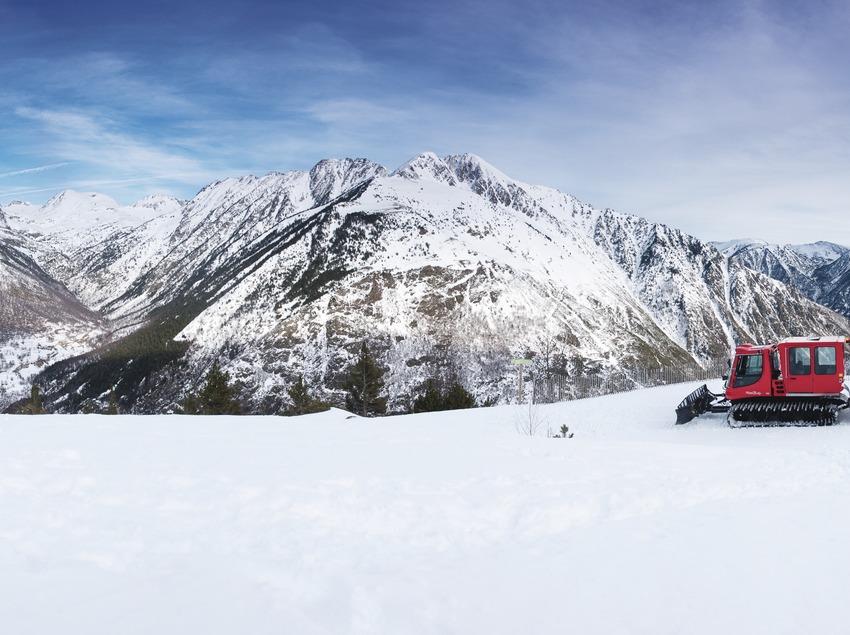 Panorámica de la estación de esquí Tavascan.