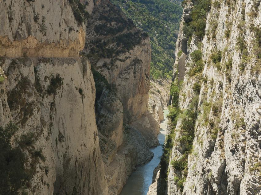 Vista del Congost de Mont-Rebei.