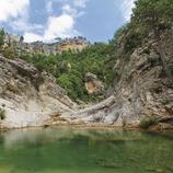 Barranc del riu Ulldemó. (Mariano Cebolla)