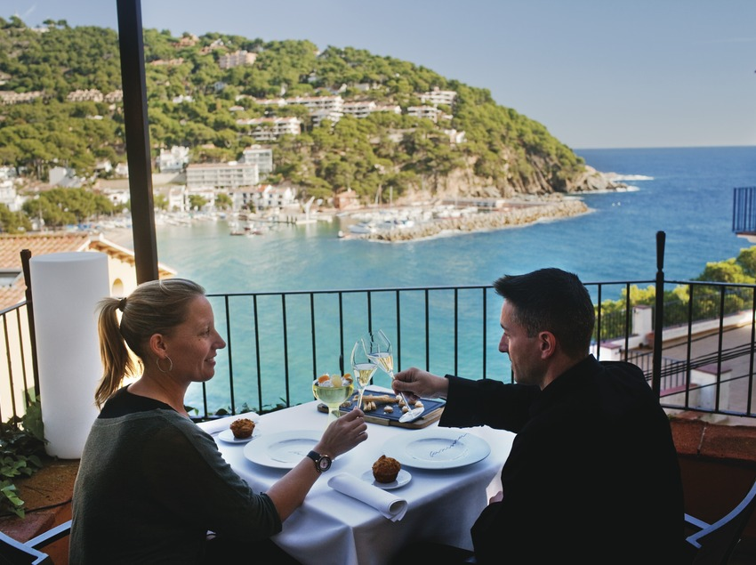 Hotel Restaurant Casamar. Llafranc, Baix Empordˆ. © Oriol Clavera