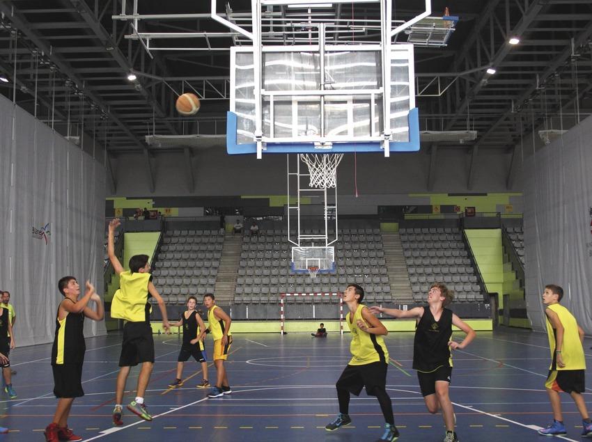 Ciutat esportiva blanes basquet. (Alejandra Ribas Casajus)