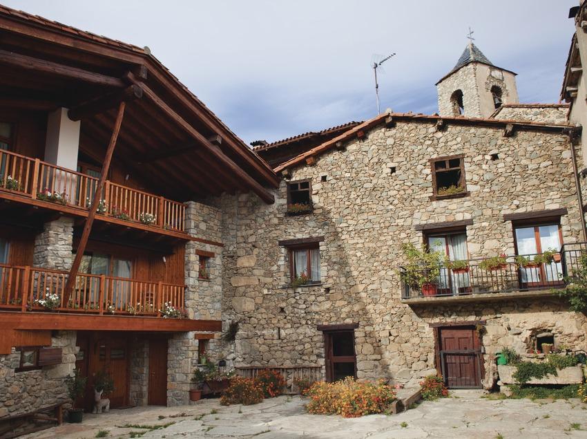 Turisme Rural. Cal Mateuet. Travesseres (La Cerdanya). © Oriol Clavera