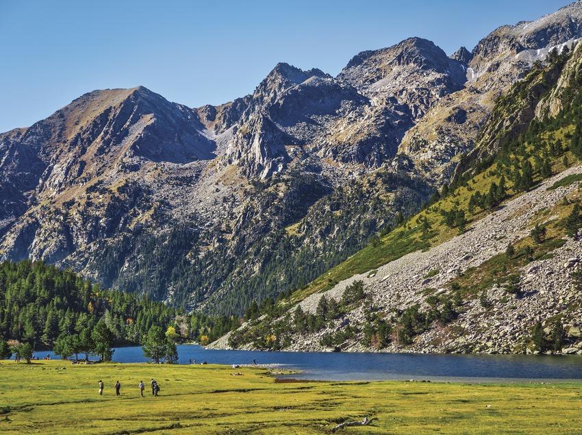 Estany Llong. Parque Nacional de Aigüestortes i Estany de Sant Maurici. (Gonzalo Azumendi)