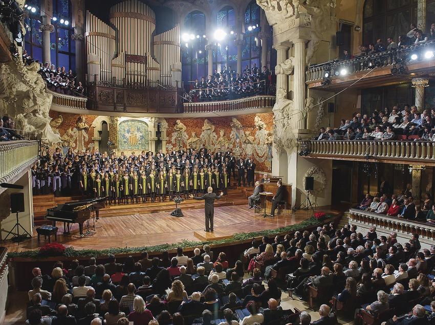Concert al Palau de la Música. (A. Bofill)