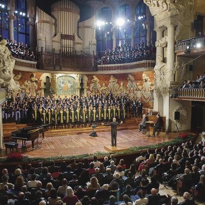 Concert al Palau de la Música.