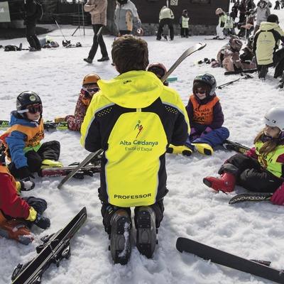 Classe d'esquí infantil