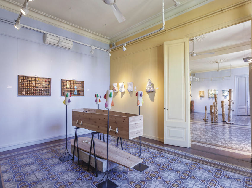Interior de la Fundació Setba