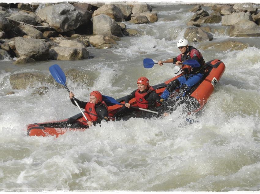 Descens en canoa