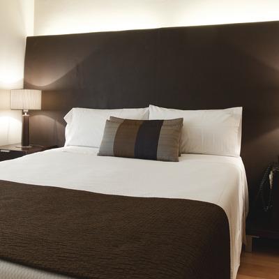 Detall de l'interior del dormitori.