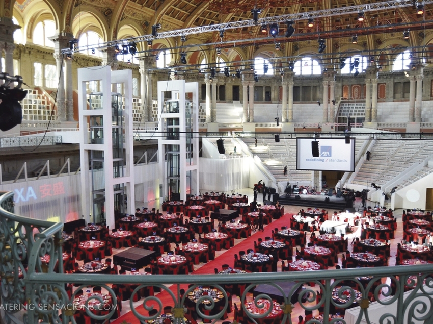 Catering Sensacions - Sopar de gala en el MNAC.