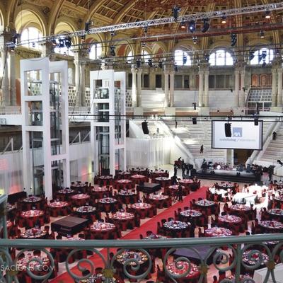 Catering Sensacions - Sopar de gala en el MNAC   (Catering Sensacions)