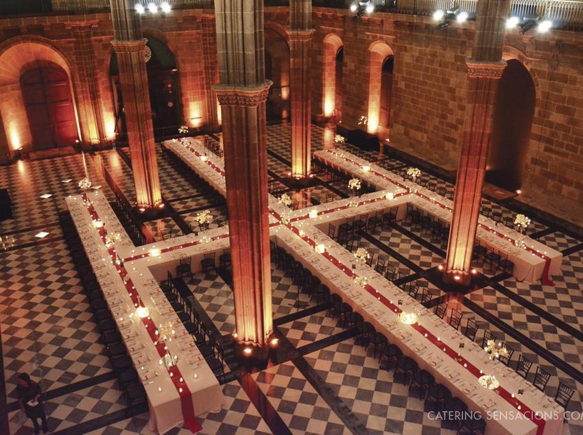 Catering Sensacions - Sopar de gala en la Llotja de Mar   (Catering Sensacions)