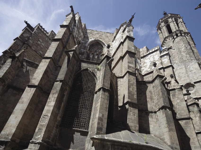 Buttresses on the cathedral  (Nano Cañas)