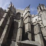 Contrafuertes de la catedral.  (Nano Cañas)