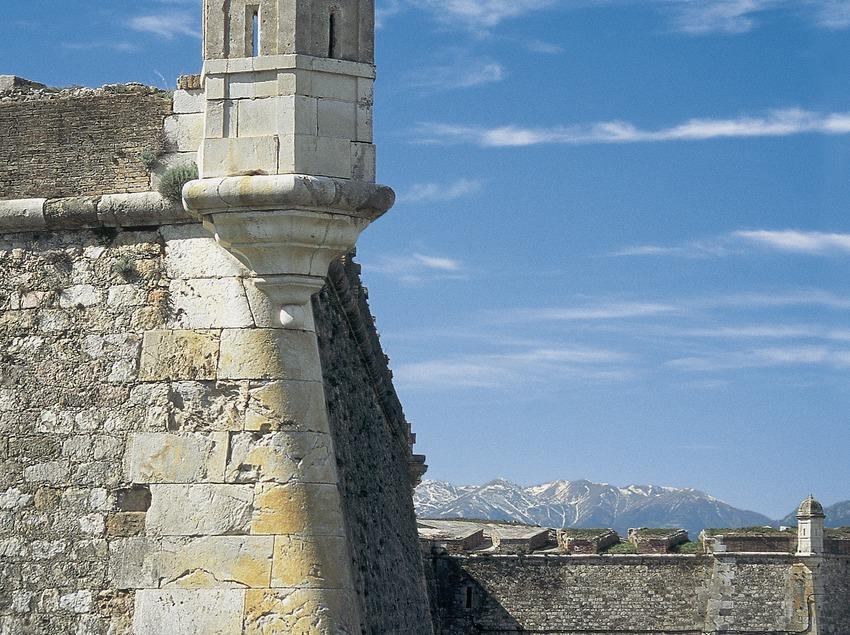 Detalle del castillo de Sant Ferran, Figueres.  (Servicios Editorials Georama)