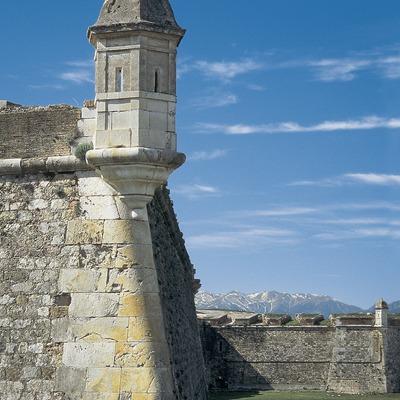 Detail der Burg von Sant Ferran, Figueres.  (Servicios Editorials Georama)