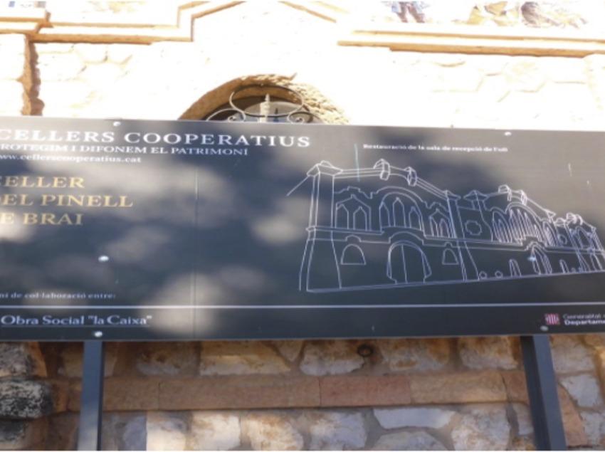 Catedral del Vi. Celler del Pinell de Brai