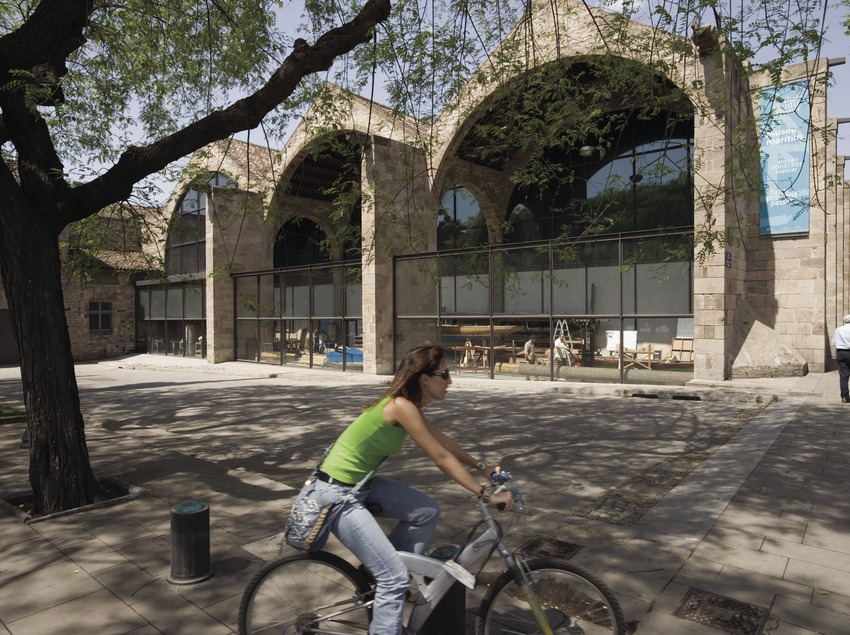Les Drassanes Reials de Barcelona, seu del Museu Marítim  (Nano Cañas)
