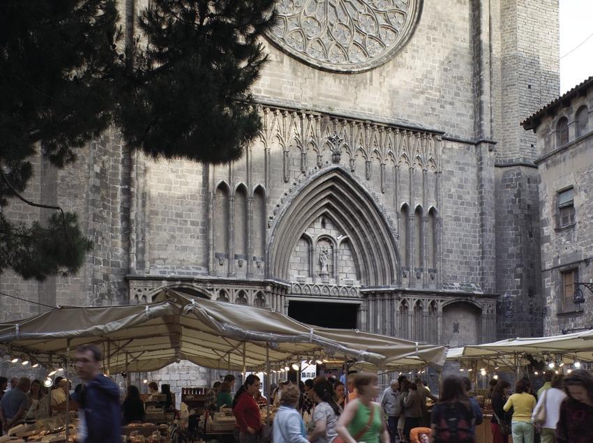 Iglesia de Santa Maria del Pi.  (Nano Cañas)