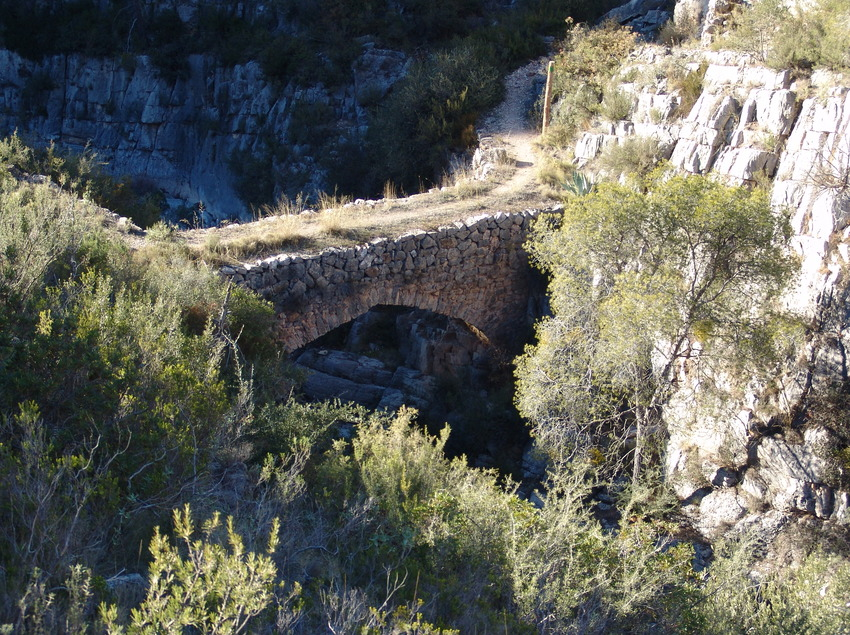Pont de Covaloca. Parc Natural del Montsant