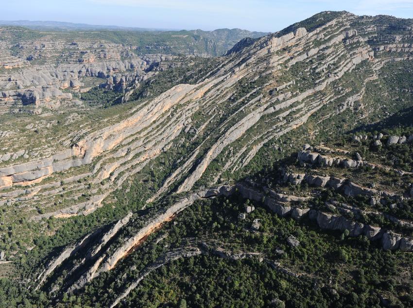 Ventadors i Pont Natural. Parc Natural del Montsant   (Gratacos)