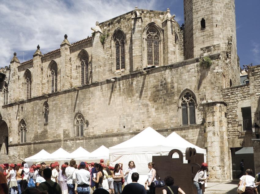 Plaça del rei i capella de Santa Àgata.  (Nano Cañas)