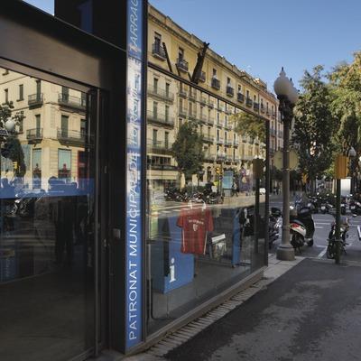 Oficina de turisme del Patronat municipal de turisme de Tarragona PMTT, situada a la Rambla Nova. Tarragona, Tarragonés, Tarragona .   ( Foto cedida per Tarragona Turisme-Rafael López-Monné.)