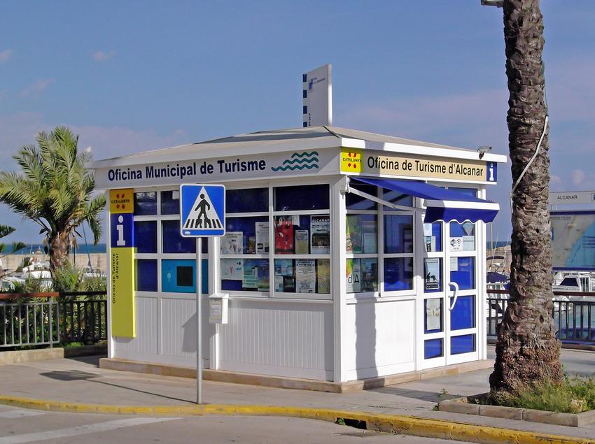 Oficina de Turisme d'Alcanar.