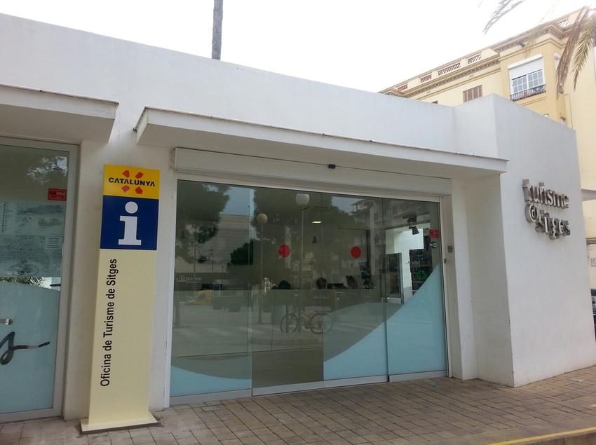 Oficina de Turisme de Sitges.